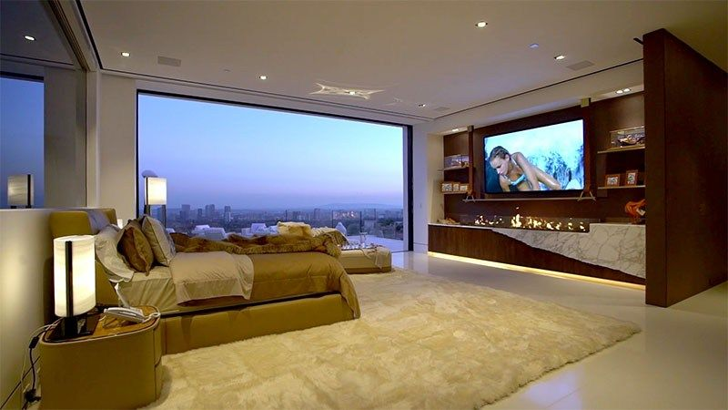 The Bruce Makowsky Billionaire Estate And Its Art 70 Photos Expensive Houses Houses In America Modern House Design