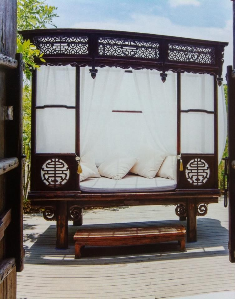 asian daybed Asian Style Decor 2 Pinterest Asian