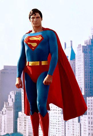 evolution costumes de super heros superman 1978 evolution. Black Bedroom Furniture Sets. Home Design Ideas