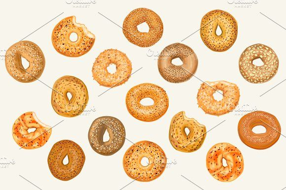 Hand drawn vector bagel set - Tags: vector wheat drawing snack sketch set bread loaf meal roll food sign old seed toast rustic sweet whole product isolated background hand kitchen cake doodle baguette bagel croissant cooking baking flour draw bakery icon hand-drawn illustration sack brown breakfast bread isolated brick woodcut bun shape variety scone style basket color sliced shop slices steam white toasted rye pastries clipart ciabatta design grain life symbol tasty decorative bake sketchy…