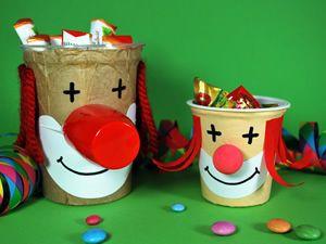 clowns becher8 fasching pinterest. Black Bedroom Furniture Sets. Home Design Ideas