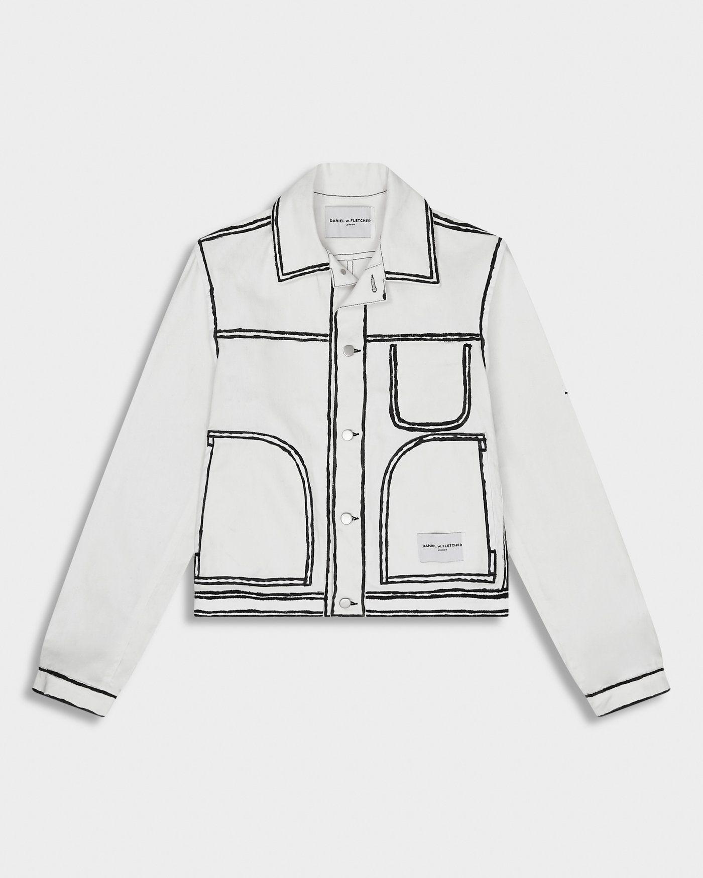 Painted Edge Jacket