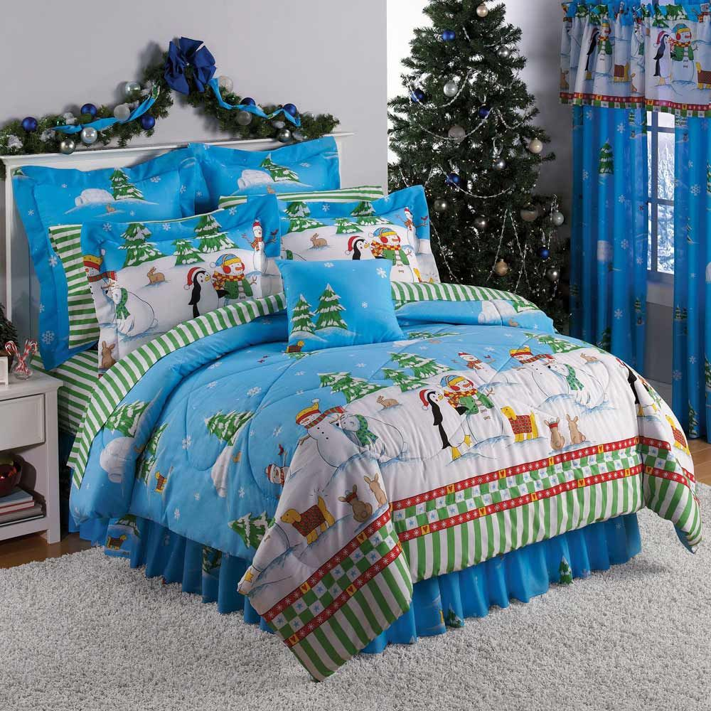 Christmas bedspreads | Christmas Teenager Home Bedding and ...