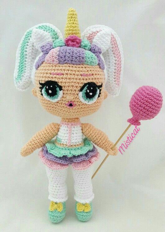 unicornio amigurumi patron gratis unicornio crochet paso a paso ... | 746x530