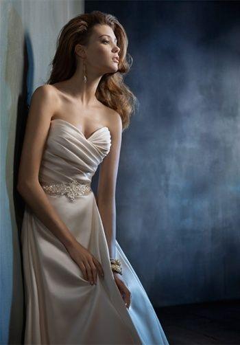 Bridal Gown Inspiration a board by www.myfauxdiamond.com #myfauxdiamond #weddings #jewelry  Tara Keely by Lazaro 2152