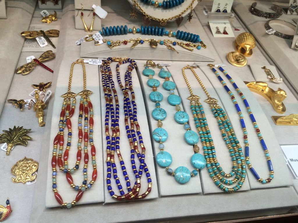Brooklyn Museum Gift Shop: Egyptian Jewelry reproductions