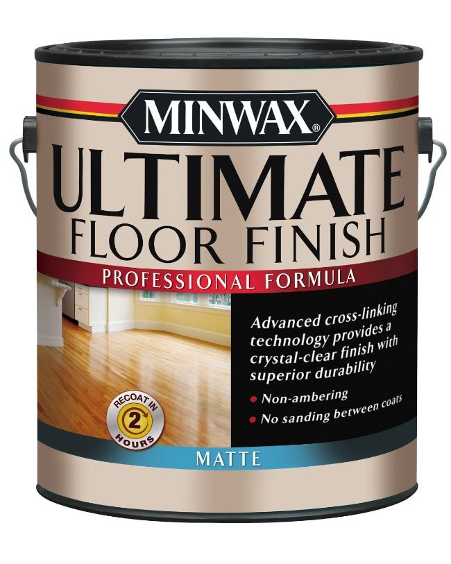 Durable Topcoat For Floors That Dries To A Crystal Clear Finish In 2020 Floor Finishes Polyurethane Floors Minwax