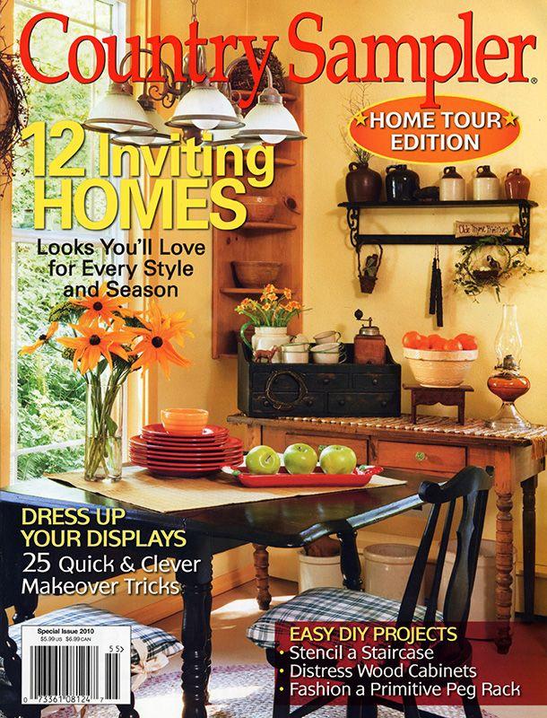 Country Sampler Magazine | Books/Magazines | Pinterest | Country ...