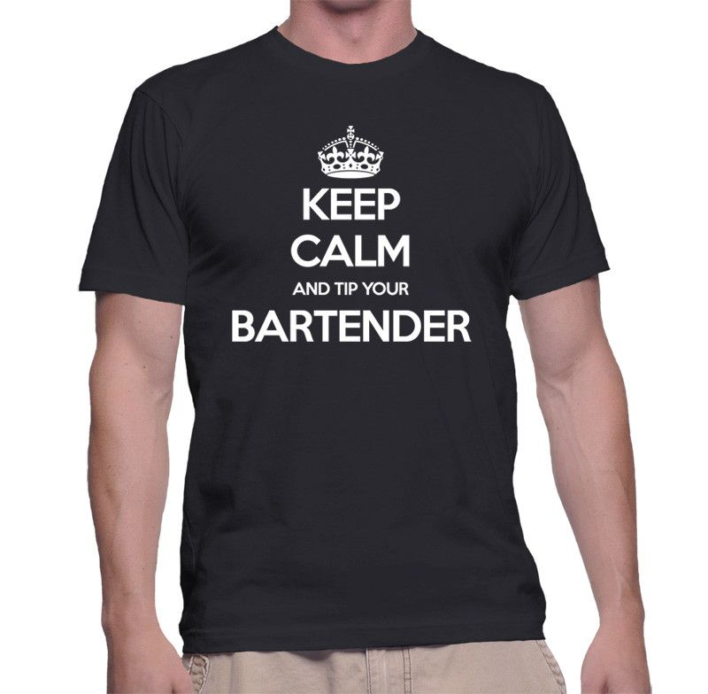 Keep Calm And Tip Your Bartender Male Shirt. Exclusively available from http://mebymeshop.com/collections/t-shirts?page=26