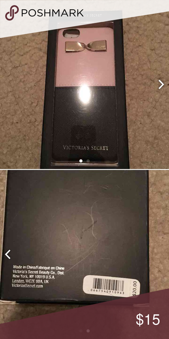 Victoria S Secret Iphone Case Fits 6 6s New In Box Retails For 20 Hard Accessories Phone Cases