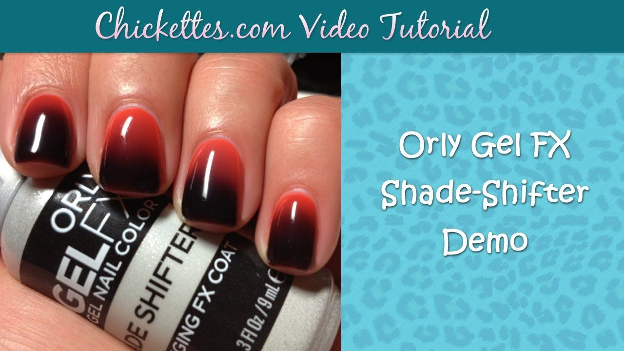 Orly gel fx shade shifter demo color changing gel polish nails orly gel fx shade shifter demo color changing gel polish geenschuldenfo Image collections