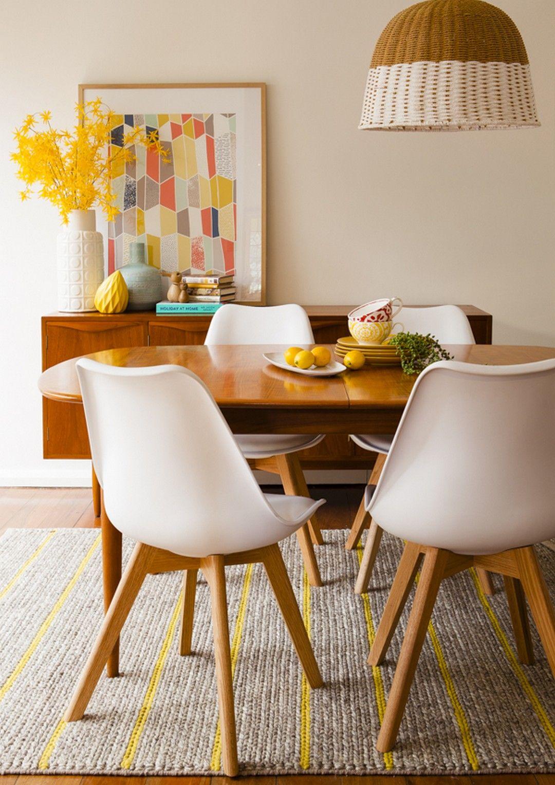 99 mid-century modern dining room tables | mid century modern