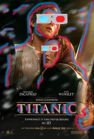 hahaha love this pic...SO excited to see Titanic in 3D <3.