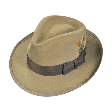 5fc3f 2457a Stetson Chatham Fur Felt Fedora Hat All Fedoras reasonably  priced  85940 63d66 Stetson whippet hat Cap Pinterest the latest ... 156df363b61