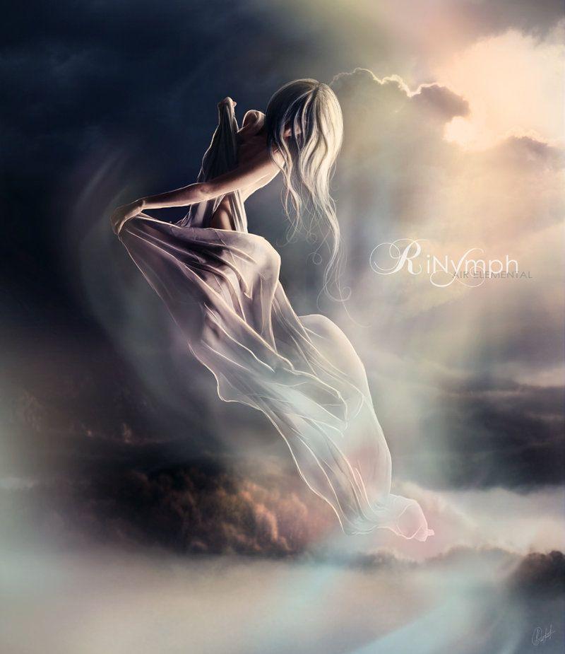Air Elemental Aura By Rinymph Deviantart Com On Deviantart