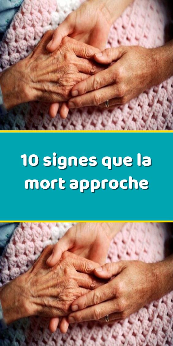 Signes Annonciateurs De La Mort : signes, annonciateurs, Signes, Approche, Sports