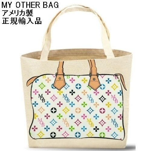 c11ab3d52022 My Other Bag マイアザーバッグ トートバッグ ZOEY MULTI WHITE エコバッグ 布製 キャンバス 丈夫