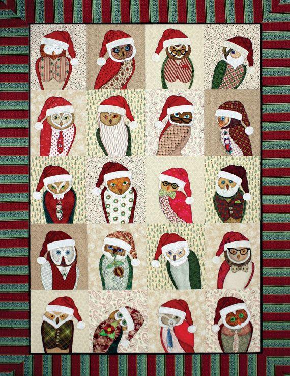 Ashton Publications Outstanding Owls Applique