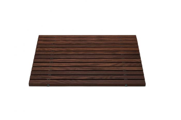 10 Easy Pieces Wooden Bath Mats Remodelista Wooden Bathmat Wooden Bath Wooden