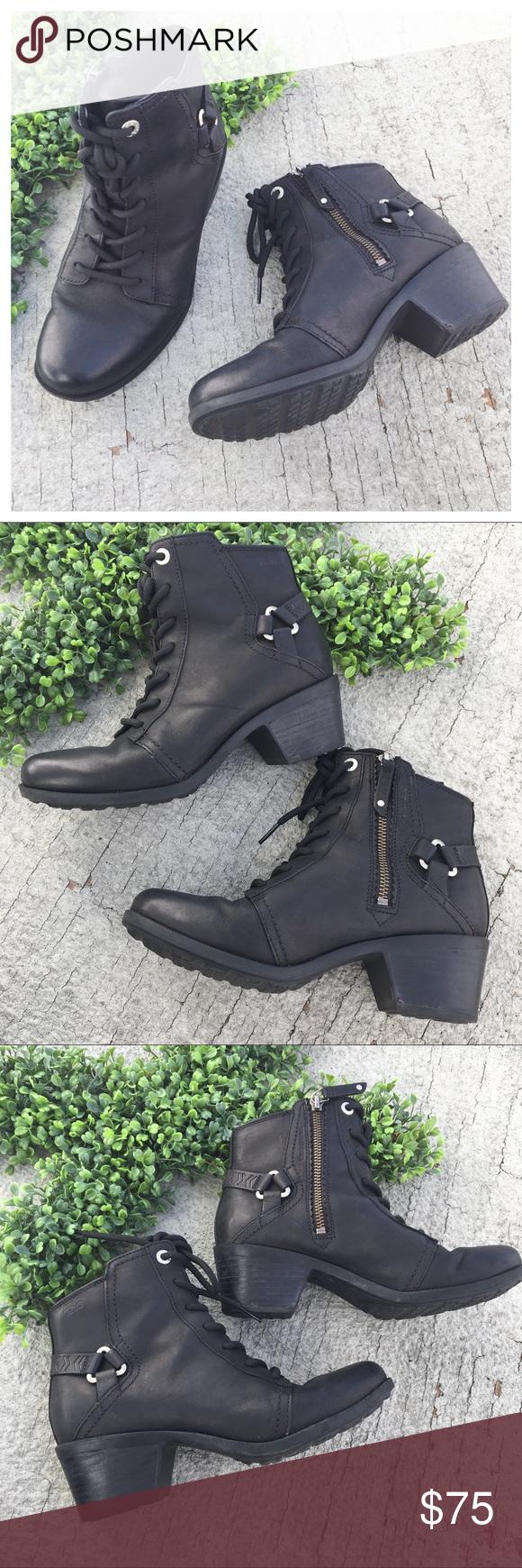 Teva Foxy Lace Up Waterproof Boots