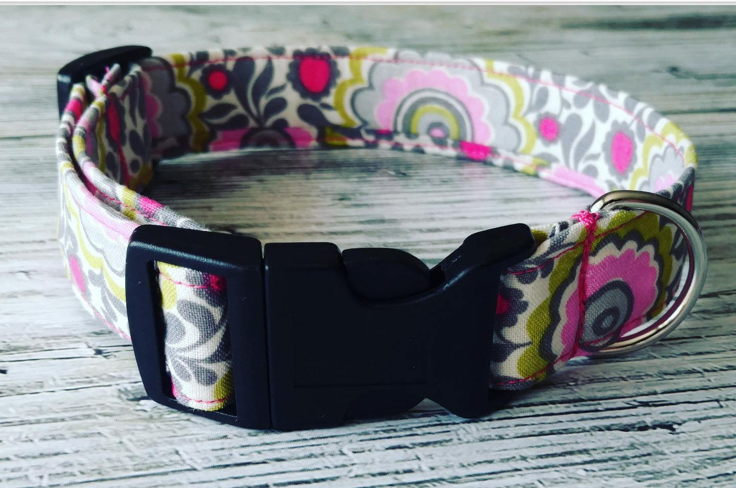 Floral dog collar adjustable puppy collar vintage inspired print floral dog collar adjustable puppy collar vintage inspired print girl dog collar dhlflorist Choice Image