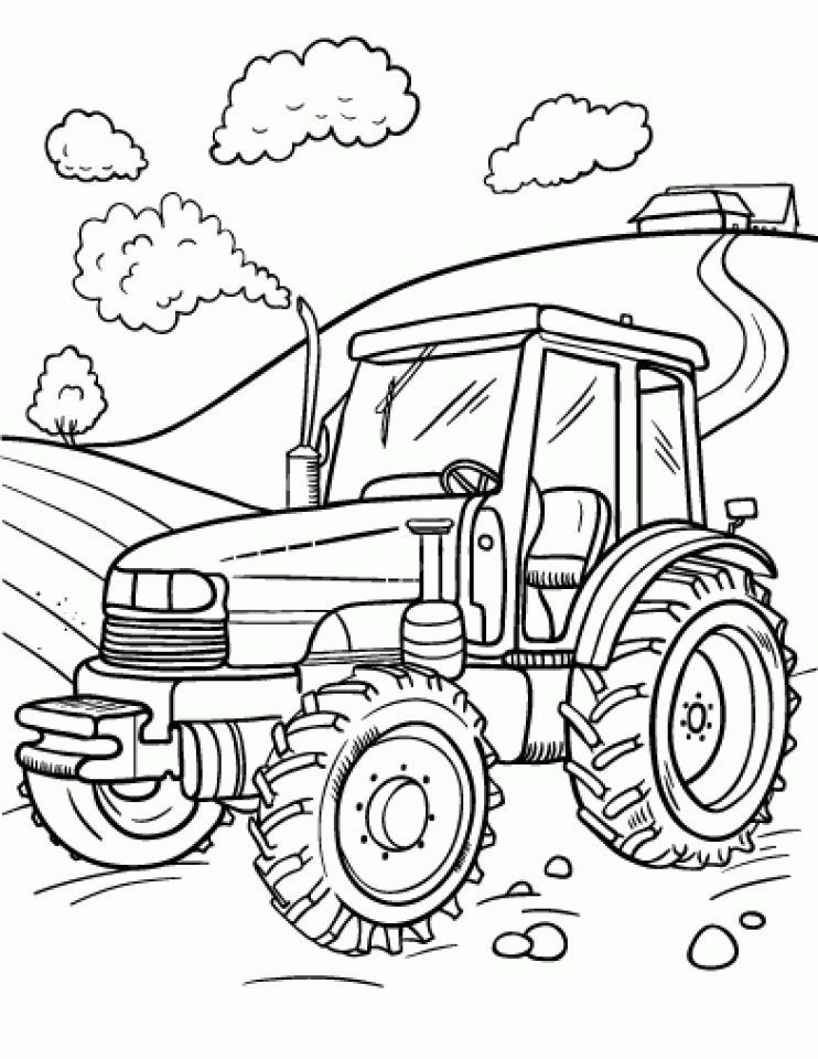 Newest Images Farm Coloring Sheets Suggestions It S Really No Secret That Color Guides For Grow In 2021 Tractor Coloring Pages Truck Coloring Pages Farm Coloring Pages
