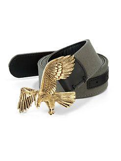 1fe3a1df9 Giuseppe Zanotti - Antiqued Bronze Eagle Belt | CLICK CLICK BOOM ...
