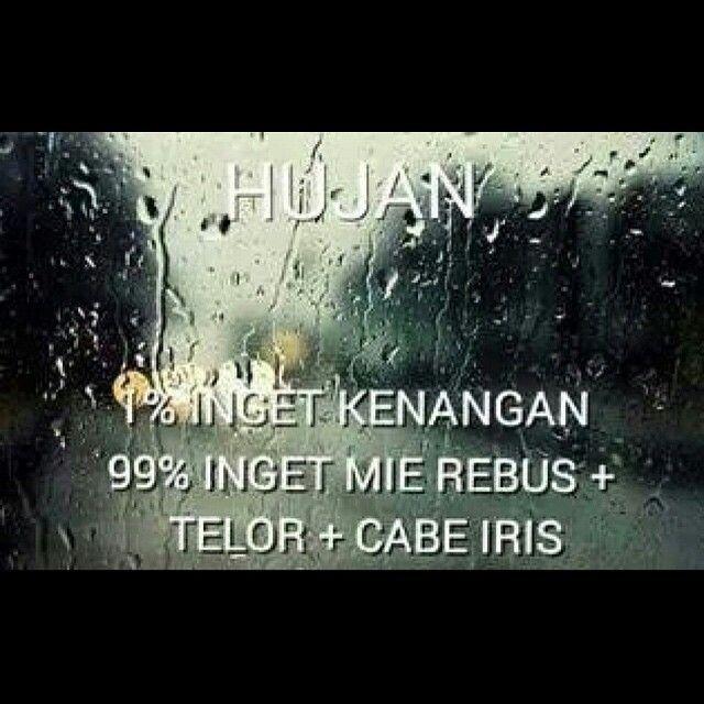 Hujan Kamus Remaja Lucu Hujan