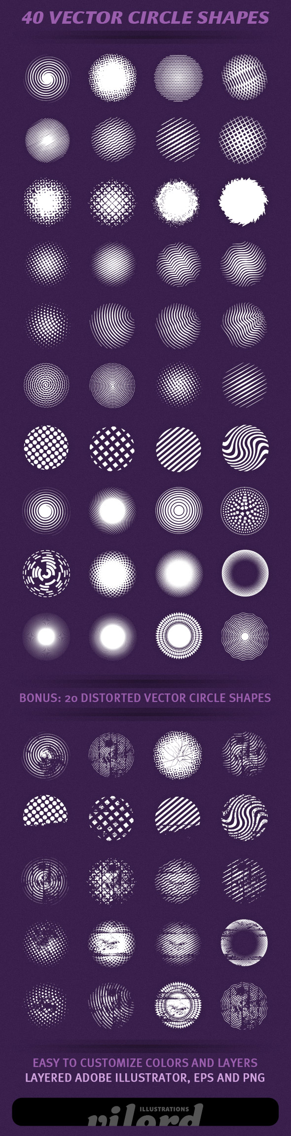 Great vector shapes for your projects