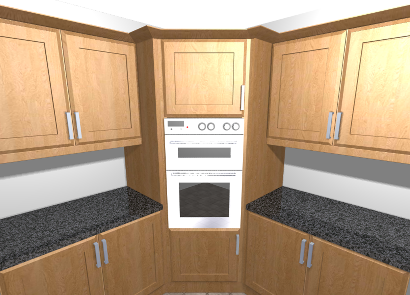 Kitchen cabinets corner oven - Oven Housing Kitchen Cornerkitchen