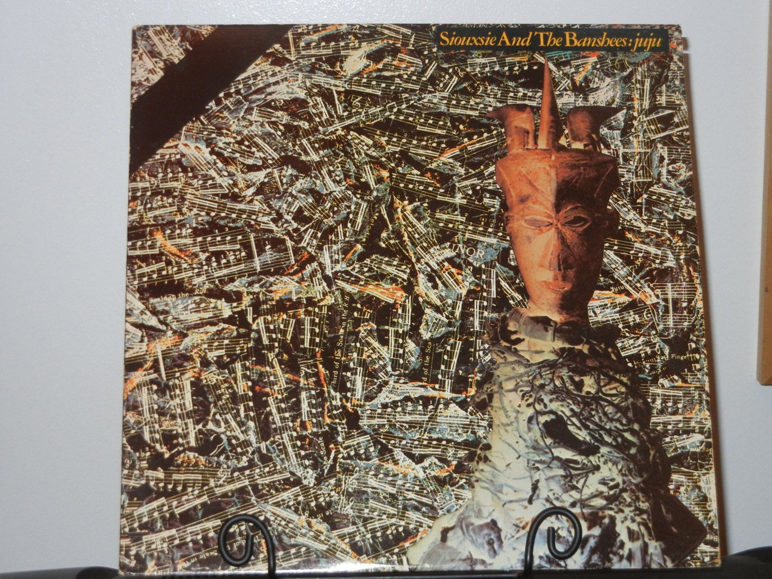Siouxsie and the Banshees Juju Album from 1981 Vintage Vinyl  I love the 80's…