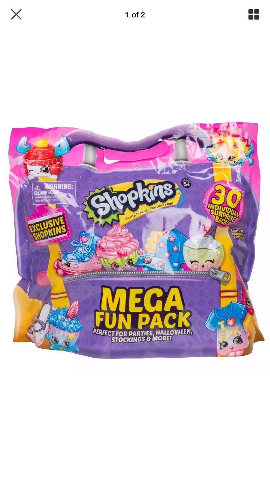 Cool Item Shopkins Mega Fun Pack 30 Bag Count Shopkins Blind Bags Shopkins Mimi Birthday