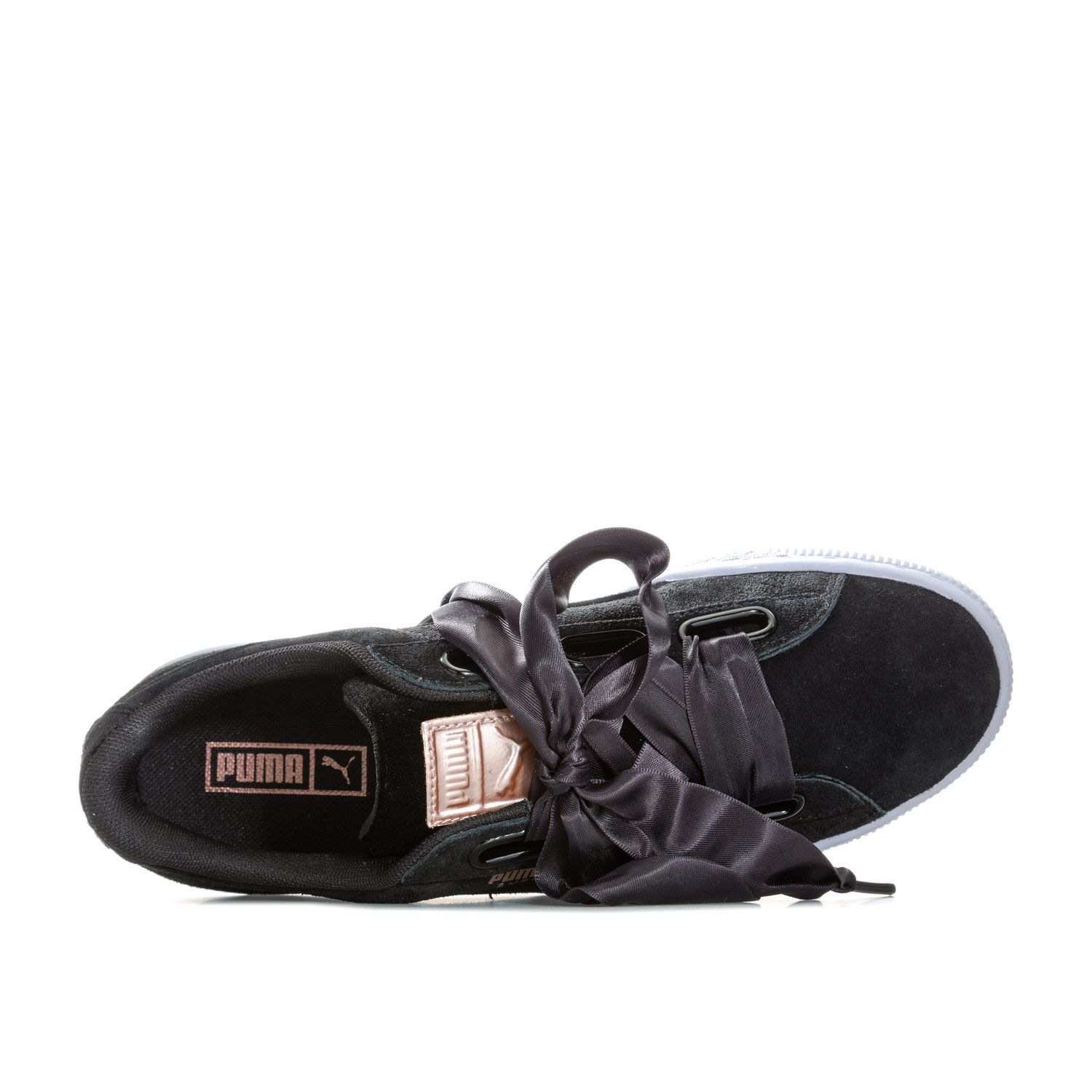 official photos fec92 87a78 NEW IN: Womens Puma Suede Heart VR black trainers £41.95 ...