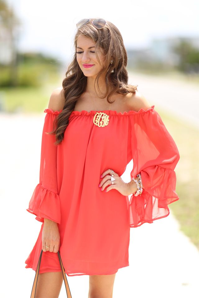 Red Off Shoulder Dress + Memorial Day Weekend Sales  b0bd5c6a1fa5