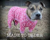 Pink Pitbull Pjs by Tooth & Honey