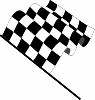 checkerd flag coloring pages - photo#42