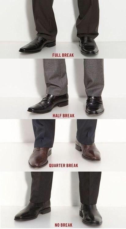 Pant breaks