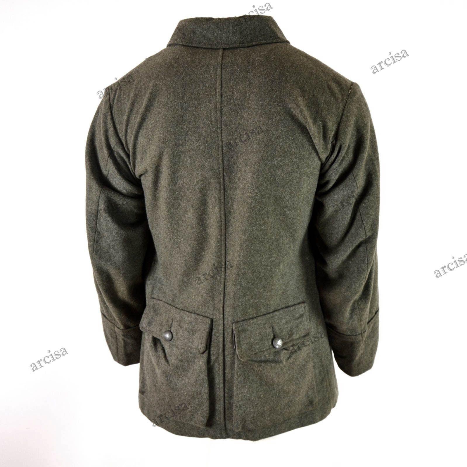 Wwii Original Vintage Swedish Army Wool Uniform Jacket M39 1940 039 S Uniform Swedish Army Jackets Wool Shirt