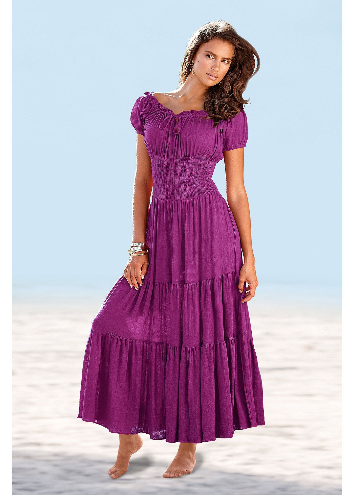 Vestido cigana longo vermelho encomendar agora na loja on-line ...