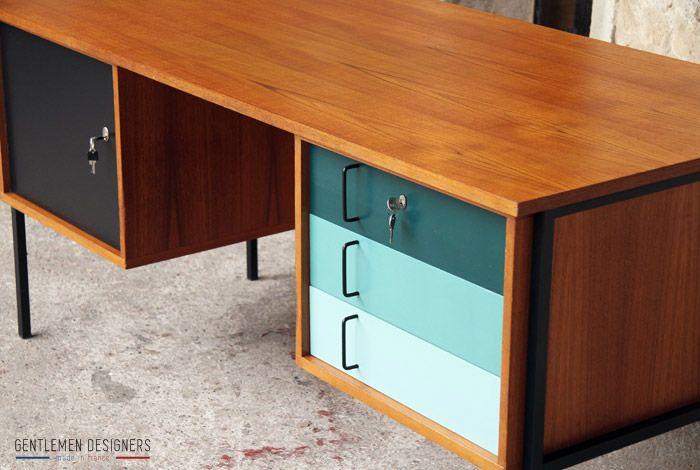 relooker un bureau ancien recherche google d co pinterest vintage recherche et bureaux. Black Bedroom Furniture Sets. Home Design Ideas