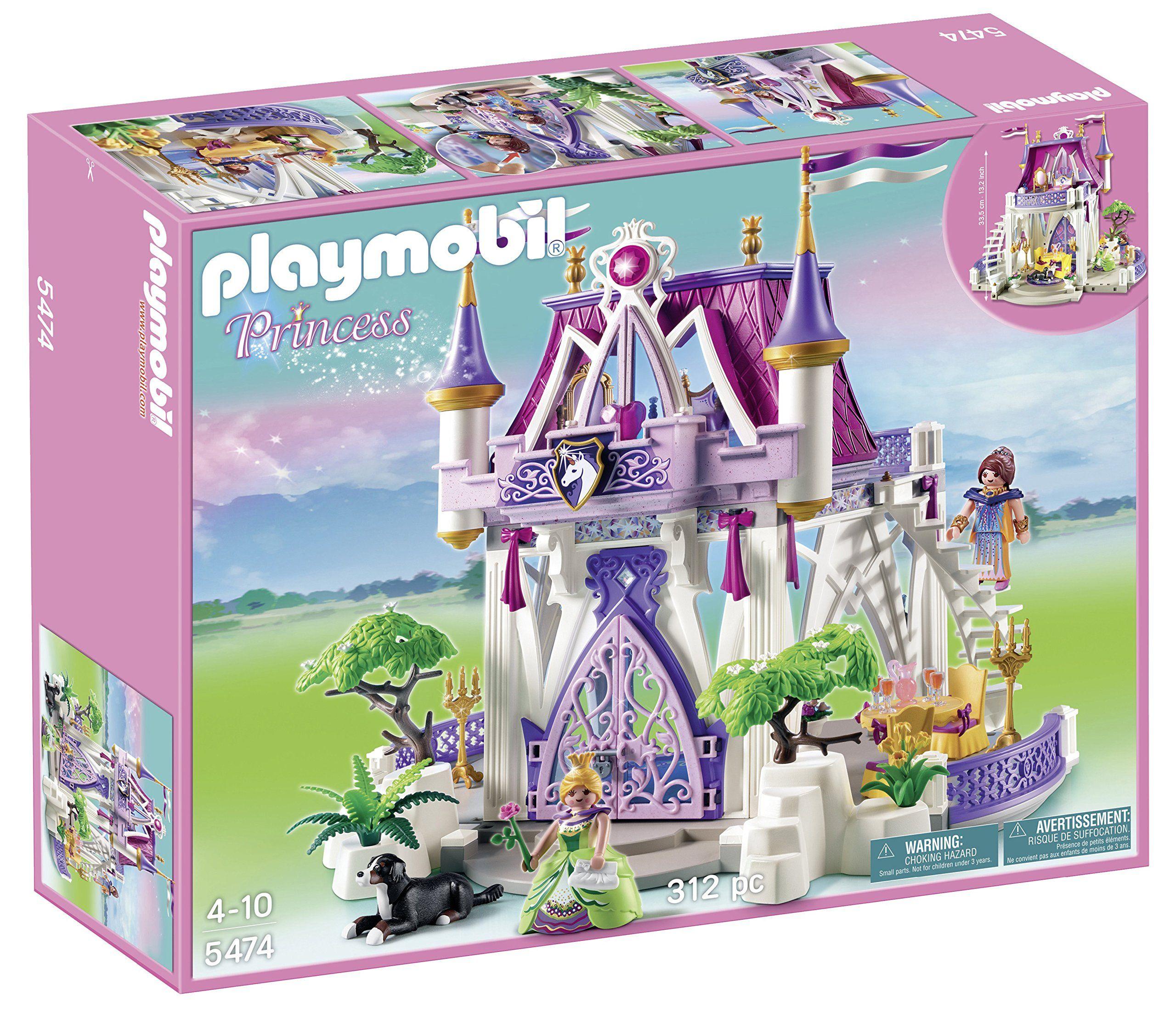PLAYMOBIL Unicorn Jewel Castle Playset. Take a fantastical