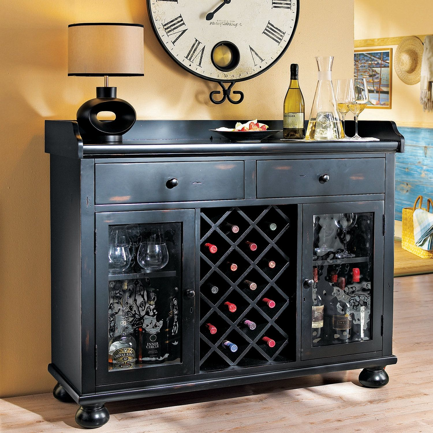 Wine Bar Console Table