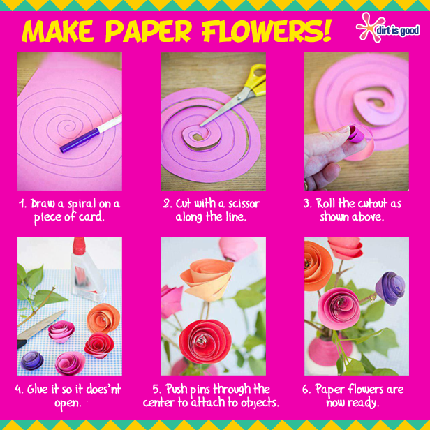 how to make a paper flower step by step easy dailymotion