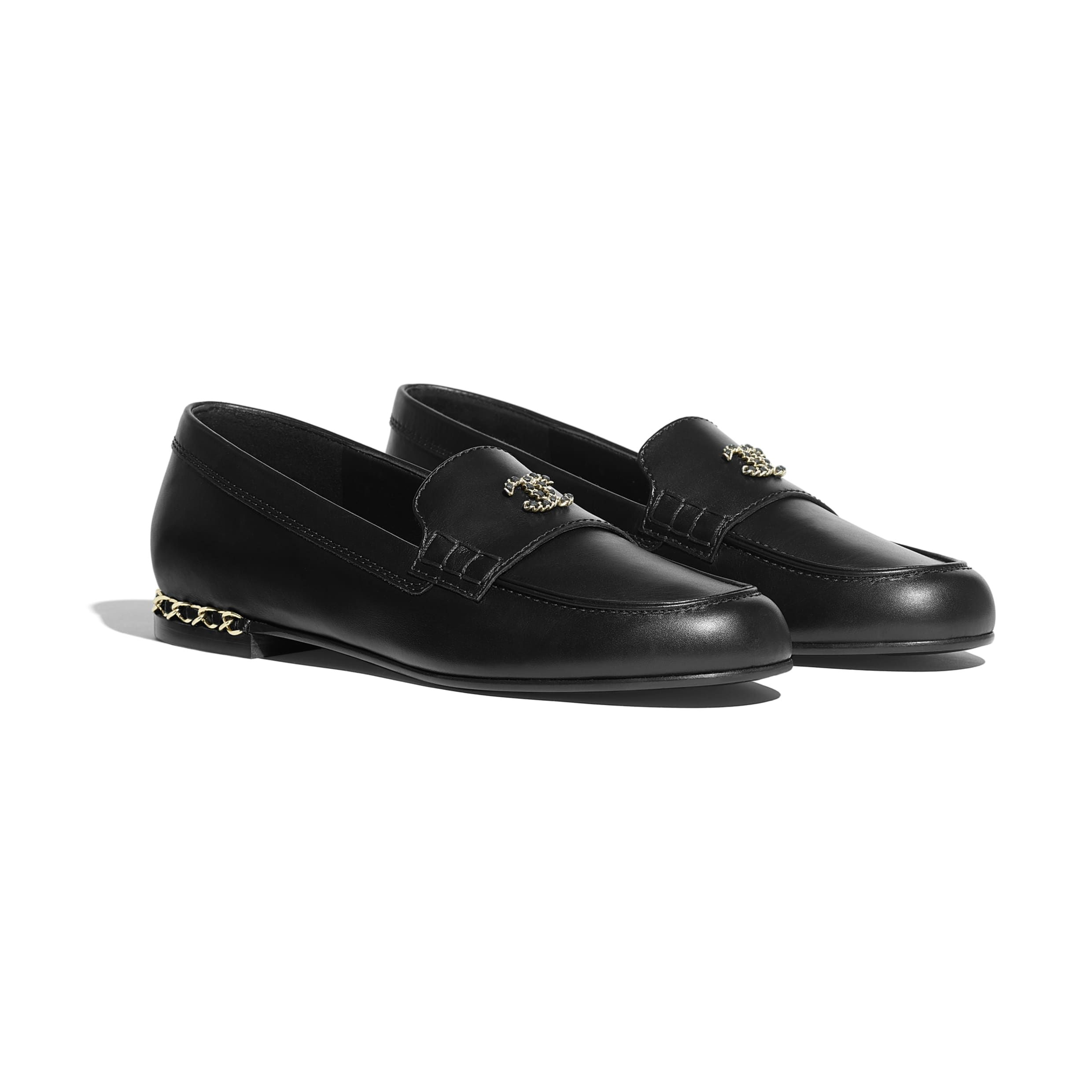 Loafers Black Calfskin Alternative View See Full Sized Version Chanel Shoes Chanel Loafers Loafers [ 2480 x 2480 Pixel ]