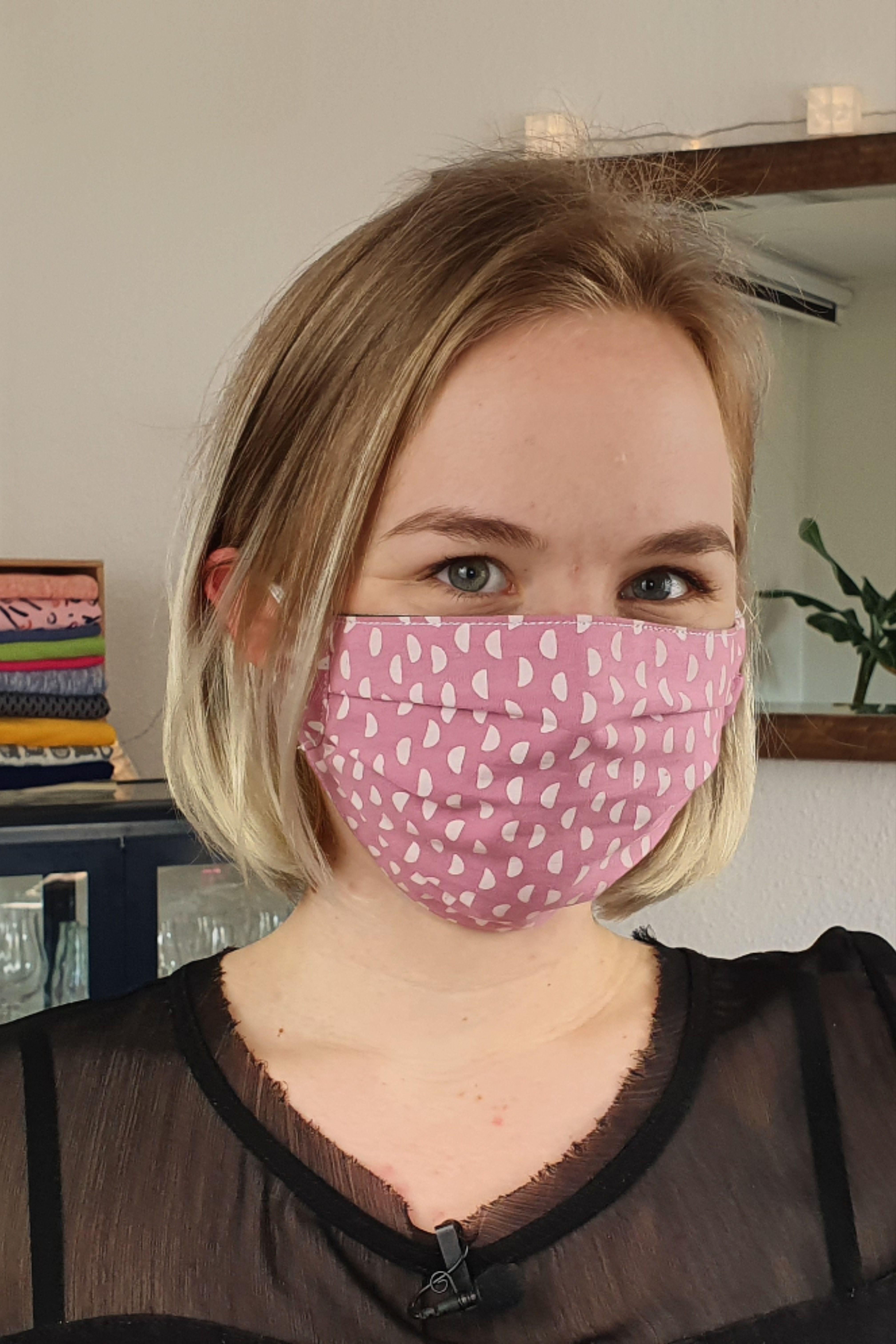 Masken nähen - kostenlose Schnittmuster