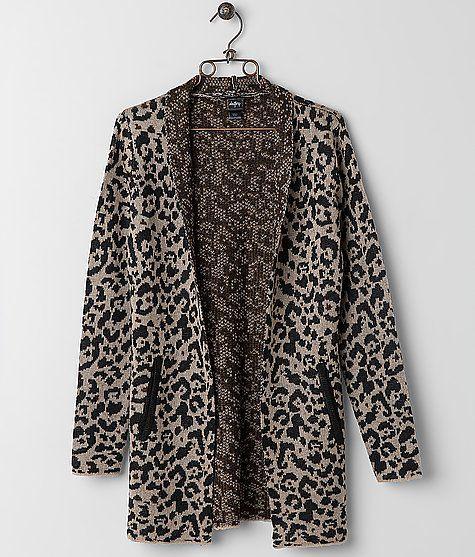 Daytrip Leopard Cardigan Sweater  0dff8c87a