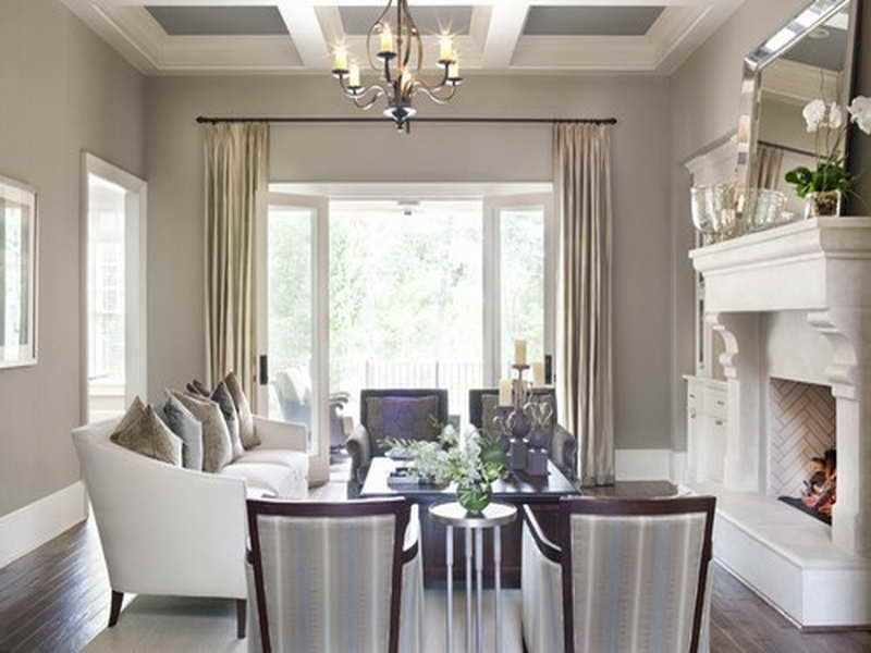Beige Living Room Best Taupe Paint Colors