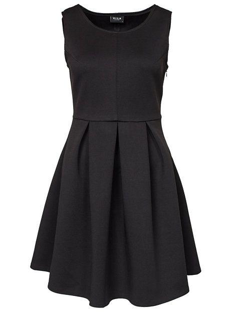Vifact Dress - Vila - Svart - Festklänningar - Kläder - Kvinna - Nelly.com 99f17d0e01730