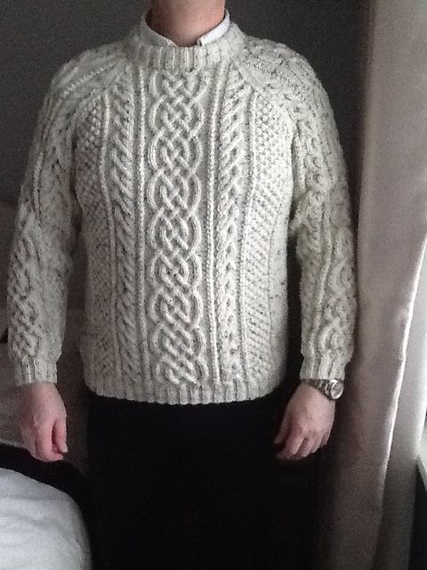 Unisex Cabled Sweaters 9465 pattern by Hayfield   Sweaters ...