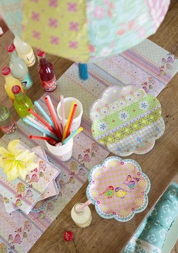 Pretty paper plates and cups perfect for parties. All by Overbeck u0026 Friends at & Pretty paper plates and cups perfect for parties. All by Overbeck ...
